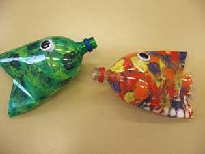 Подсвечник из пластиковой бутылки своими руками